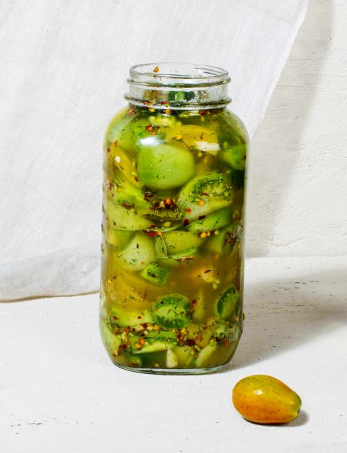fermented-green-tomato-pickle